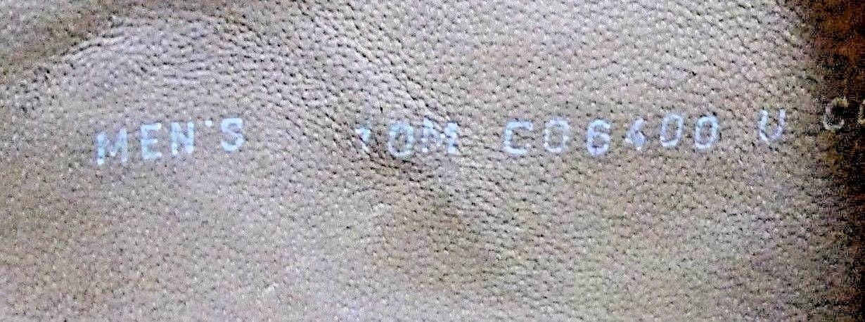 Men's Cole Hann Burnished Chestnut leather Split Foot Oxford Sz. 10D MINT!