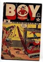 BOY COMICS #79 1952-CHARLES BIRO-Wrecking Ball cover - $31.53