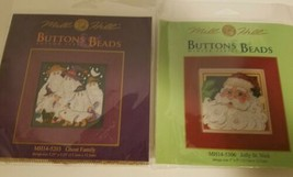 Mill Hill Buttons Beads Cross Stitch Kit Jolly St Nick 14-5306 Ghost Family 5203 - $19.79