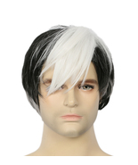 2017 Voltron Legendary Defender Shiro Wig Anime Cosplay Props Black Whit... - $21.00