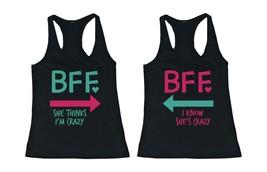 Cute Mint & Pink Best Friend Tank Tops - Matching Bff Tanks - $34.99+