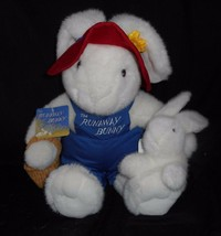 Big Vintage Commonwealth The Runaway Bunny & Baby Stuffed Animal Plush Toy W Tag - $32.73