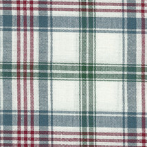 Longaberger Small Market Basket Liner ~Market Day Plaid Fabric ~ Stand Up - $14.69