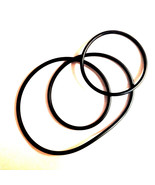 **NEW 2 DRIVE BELT SET** ELMO FP8-C FP-C  Dual 8mm Super 8 Film Projector - $11.87