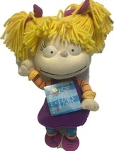 "Angelica Pickles Rugrats Plush Stuffed Doll GUND 2002 7"" Nickelodeon  - $24.74"