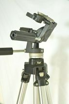 Manfrotto Bogen 3021 pro camera tripod +3047 Deluxe 3-way Pan/tilt Head image 4