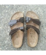 Birkenstock Birkis Brown Straps Sandal Size 7 - $55.00