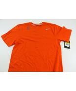 Nike Men's Dri- Fit Orange Cotton Tee T-Shirt, Size Small, NWT, 2012 - $13.84