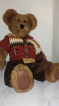 "Boyds Bear Archive Collection Plush Bear ""Devin Fallsbeary "" Brown 14"" EUC - $20.77"