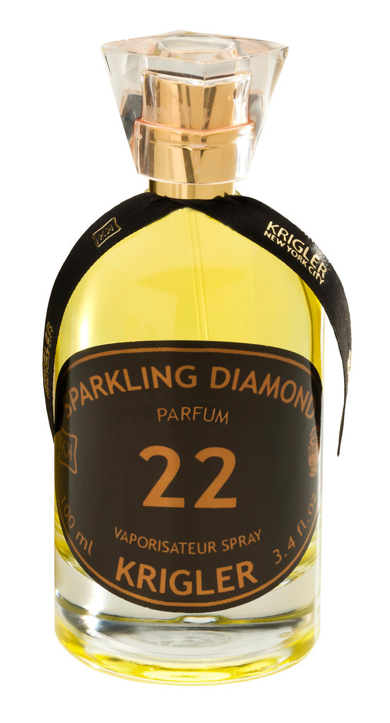 SPARKLING DIAMOND 22 by KRIGLER 5ml Travel Spray Perfume CHAMPAGNE STRAWBERRY