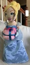 "Cinderella Princess Doll Disney Plush Party Decor Foot Greeter 21"" Stand... - $29.99"