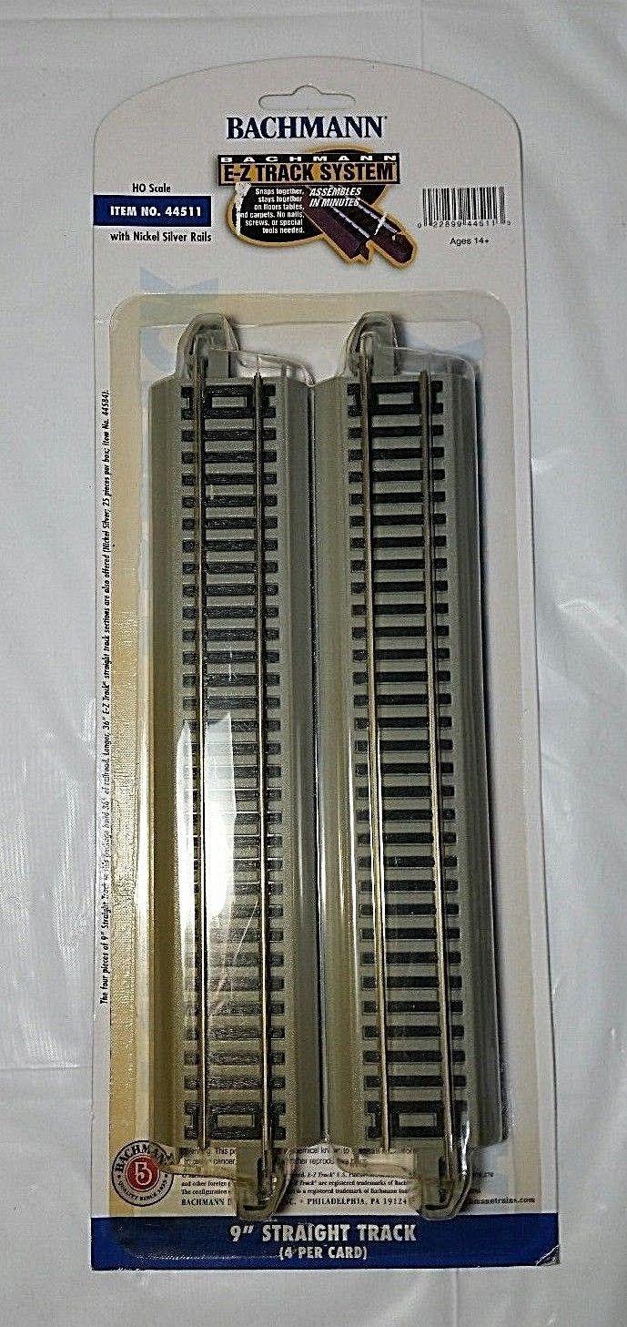 Bachmann HO EZ Track Straight (4) 44511, and 50 similar items