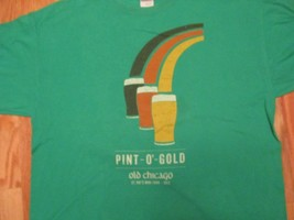 Pint O Gold Old Chicago St Patricks day 2012 T Shirt Size XL - $8.99