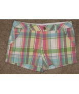 Limited Too Plaid Shorts Size 16R 16 Regular - $7.69