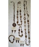 BOHM Designs In Motion Jewelry 8 Piece Lot Necklaces Bracelets Earrings - $75.00