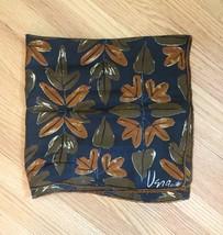 Vintage 60s Vera Neumann square silk scarf (Fall Leaves with ladybug) image 2