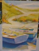 "Gone Ashore 28""x 40"" House Banner Breeze Art NEW Summer Spring Beach Flag - $12.86"