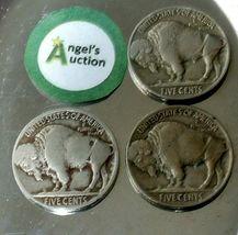 Buffalo Nickel 1917, 1918 and 1919 AA20BN-CN6075 image 8