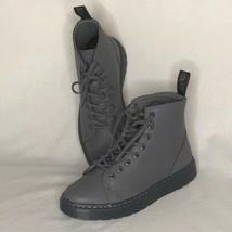 Dr Martens sz 7M/8W 39 EU Gray Talib 8 eye Boots New in Box  - $148.50