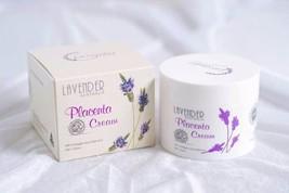 Lavender Placenta Collagen Cream Bright Skin Anti Aging Vitamin E Aura i... - $49.39