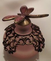 Perfume Bottle, Dragonfly, Pink - $19.80