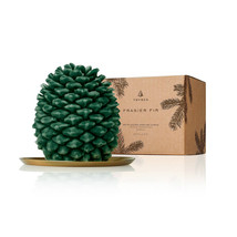Thymes Frasier Fir Nothwoods Pincecone Petite Candle - $50.00