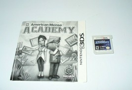 American Mensa Academy (Nintendo 3DS, 2012) Cartridge Only - $9.90