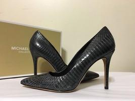 Michael Kors Aarons Grey Graphite Snake Women's... - $98.98