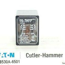 CUTLER-HAMMER 8530A-6501 OUTPUT DEVICE DPDT RELAY K10P-11D15-12 SER. A1 image 3