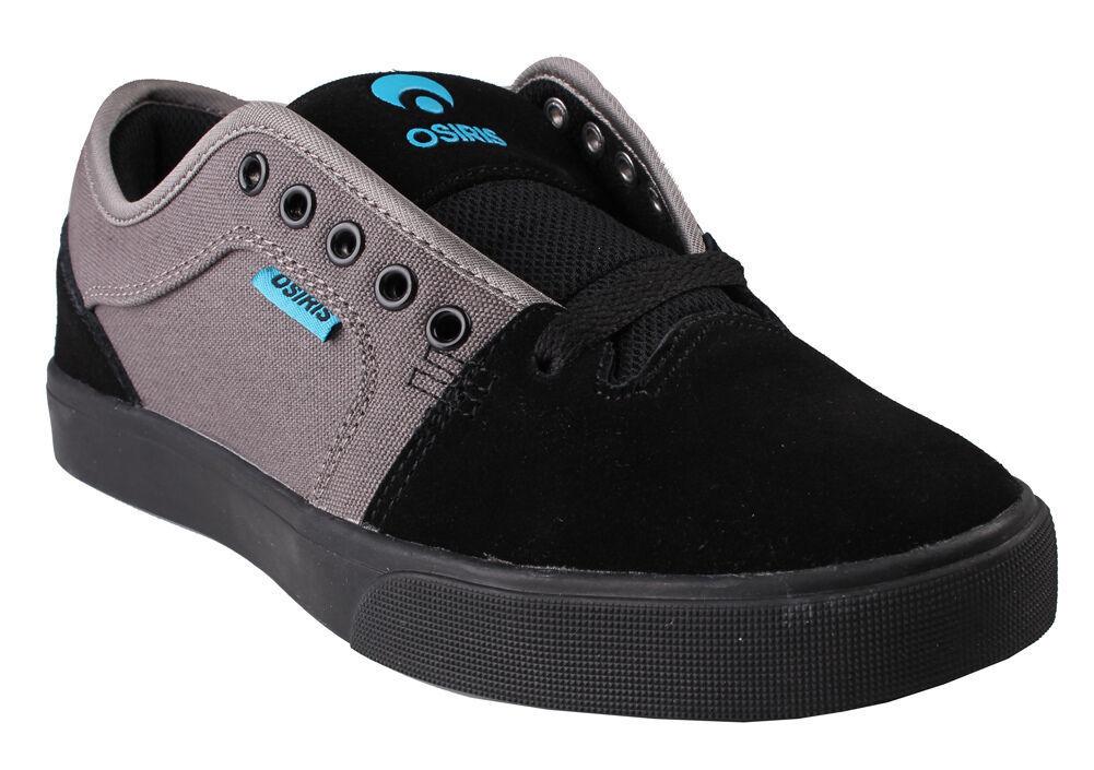 Osiris Negro/Cian Hombre Decaimiento Skate Zapatos