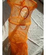 Hanging Space Saver jStorage Bag Orange Mesh 6 Compartments - $21.77