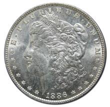 1886 MORGAN SILVER DOLLAR COIN Lot# A 1583
