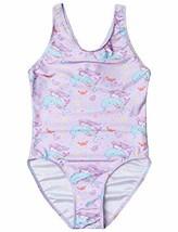 Kids One Piece Swimsuits Mermaid Bathing Suits for Girls 10 11 Swim Wear - $18.38