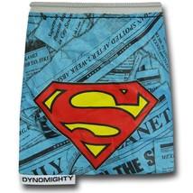 Superman Mighty Stash Bag Blue - $14.98