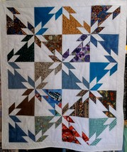 Scrappy Hunter's Star Quilt - $55.00