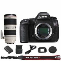 Canon Eos 5DSR / 5DS R Dslr Camera Body With Ef 70-200mm f/2.8L Is Iii Usm Lens - $3,415.32