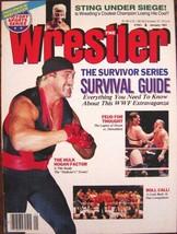 The Wrestler Magazine January 91 Survivor Series Survival Guide WWF Extr... - $11.88