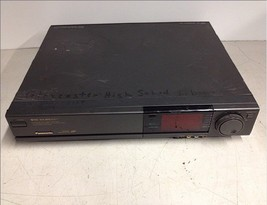 Panasonic AG1960 Pro Line HI FI VHS Player Recorder For Parts Repair - $56.25