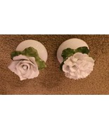 Pair Tiny Porcelain Salt Pepper Shakers Aynsley Bone China Made in England - $13.59