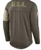 Men's Nike Shield Salute To Service US Army Bengals Jacket Size Medium EUC - $37.13