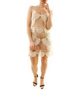 For Love & Lemons Womens Crochet SWMCD1031 Cover Up Ivory S - $85.28
