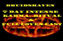 Karma Spell, reverse bad Karma Full coven cast to banish bad karma, magi... - $99.00