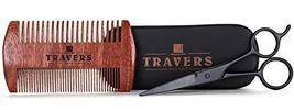 Travers Brands Beard Grooming Kit for Men, Beard & Mustache Growth Grooming & Tr image 9