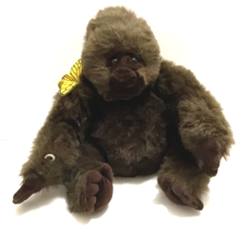 "Amy Gorilla Plush Toy With Butterfly From Congo 16"" By Dakin 1995 Congo Movie  - $64.34"