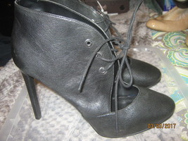 Nine West  Womens Nicolette Gray Dress Booties Shoes 9.5 Medium NEW - $26.72