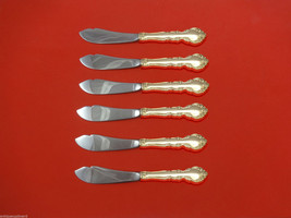 Grandeur by Oneida Sterling Silver Trout Knife Set 6pc HHWS  Custom Made - $419.00