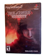 Final Fantasy VII 7 Dirge of Cerberus New Sealed Black Label Playstation... - $19.88