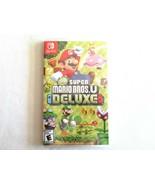 Super Mario Bros. U Deluxe (Nintendo Switch) Brand New Factory Sealed - $54.99