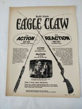 1974 Eagle Claw Fishing Rod Magazine Original Print Ad Advertisement  - $24.73