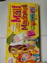 Mall Madness Electronic Talking Board Game 2004 Milton Bradley 100% Comp... - $37.00
